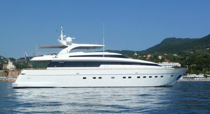 KK Superyachts lists 30m Sanlorenzo SL100 M/Y SUD for sale