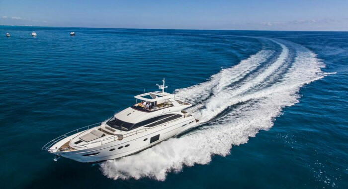 M/Y Aqua Chameleon Princess Y82 New Central Agency Sales Listing for KK Superyachts