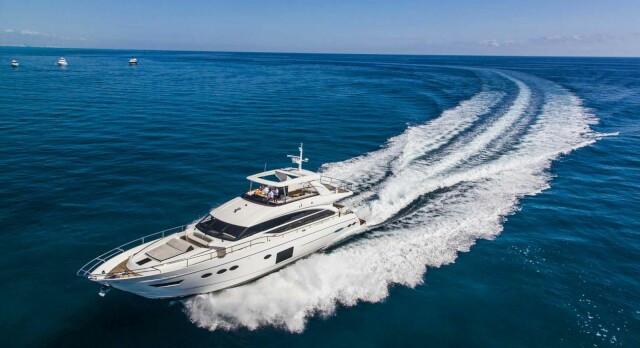 M/Y Aqua Chameleon Princess Y82 New Central Agency Sales Listing for KK Superyachts
