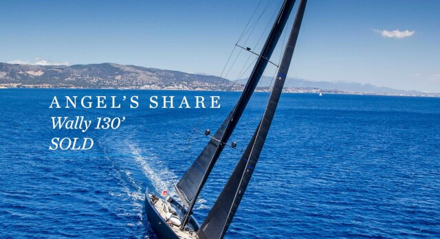SOLD - 130' Wally sailing yacht ANGEL'S SHARE