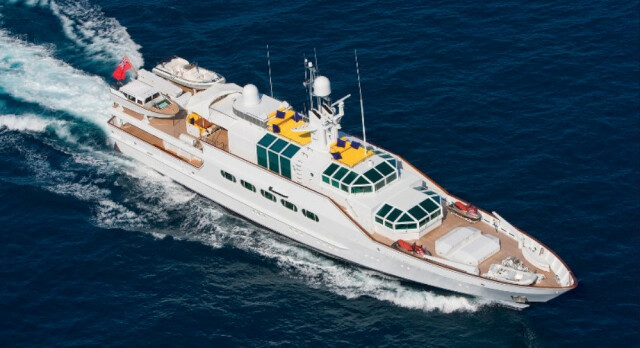 Half a Million Euros Price Reduction on Iconic Feadship 46.6m AZTECA