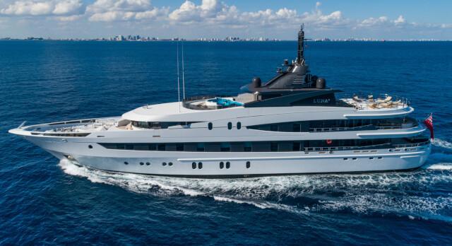 KK SUPERYACHTS LISTS 66m OCEANCO M/Y LUNA B for SALE