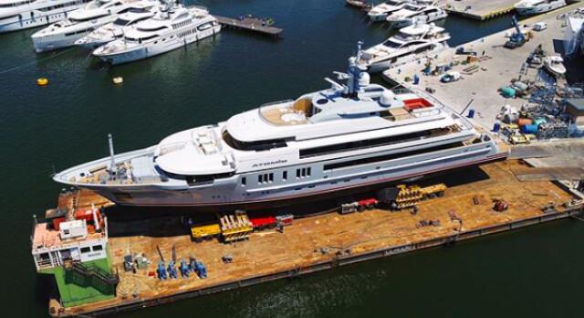 Viareggio Super Yachts launch 64-metre M/Y Atomic