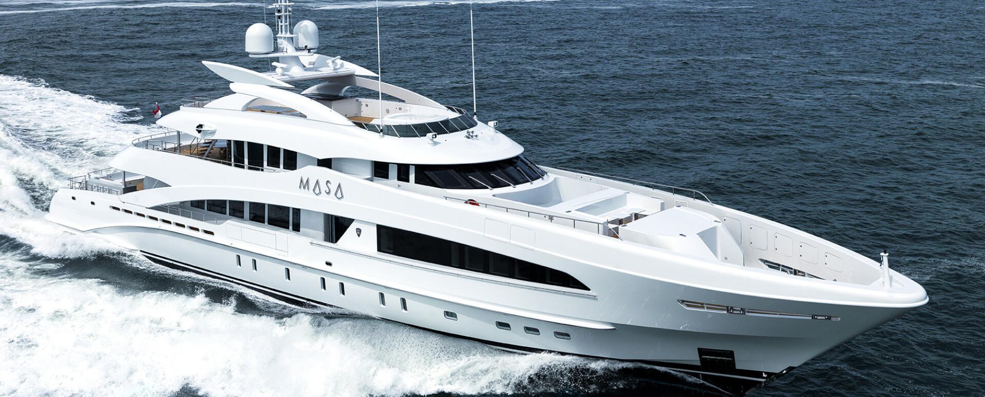 Heesen delivers 50-metre Masa
