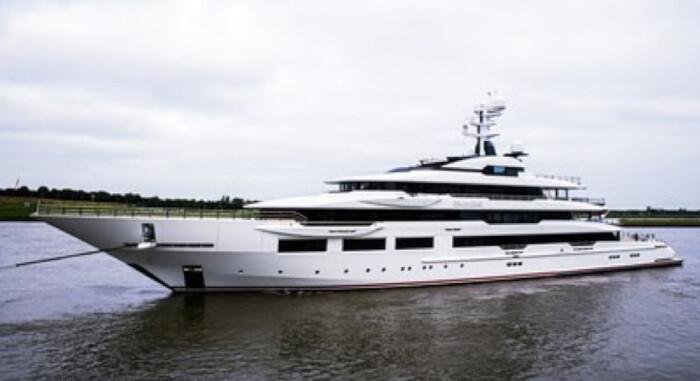 Oceanco delivers 90-metre DreaAMBoat