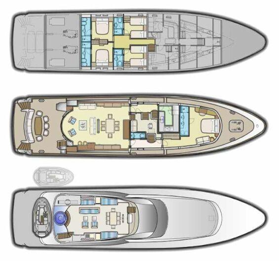 Xo Of The Seas deckplan