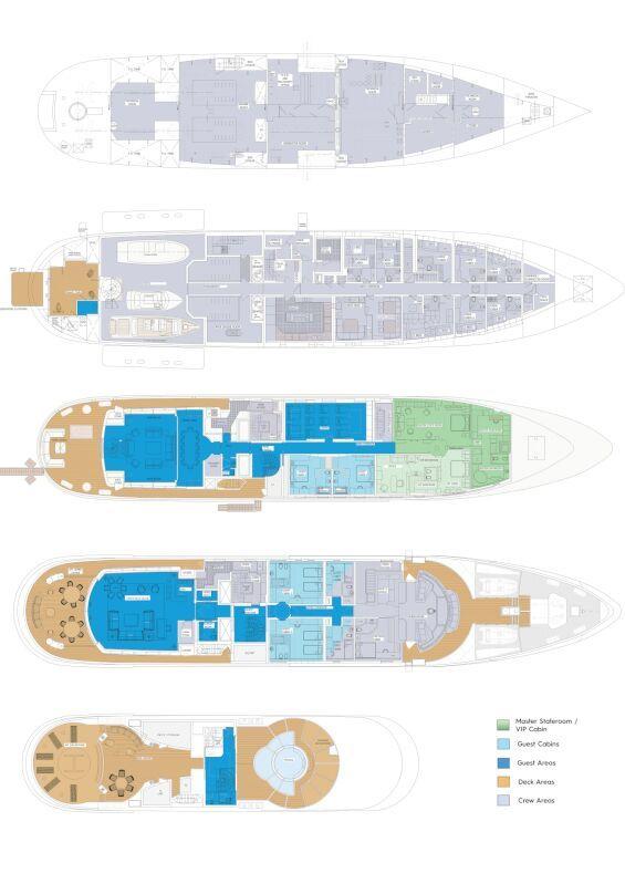 Luna B deckplan