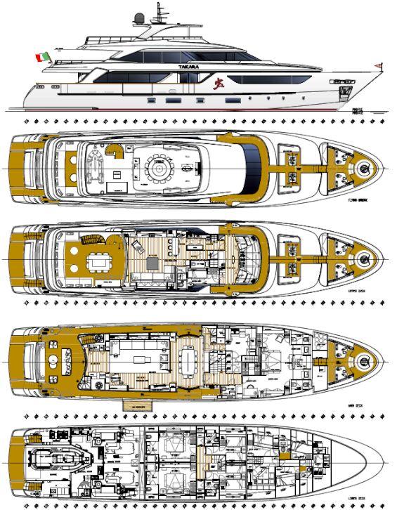 Takara deckplan