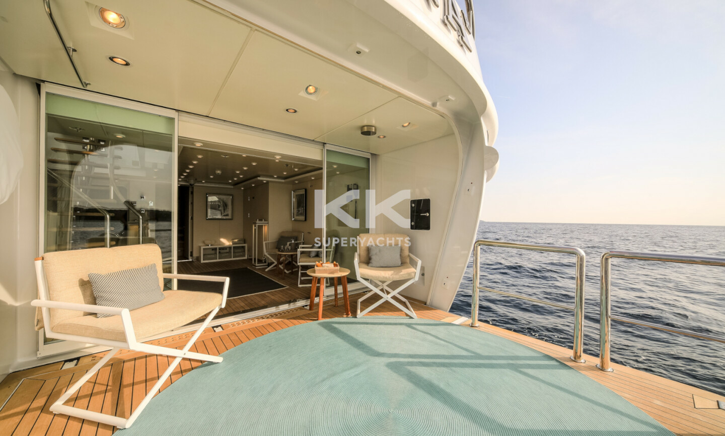 Luna B yacht for Charter 54
