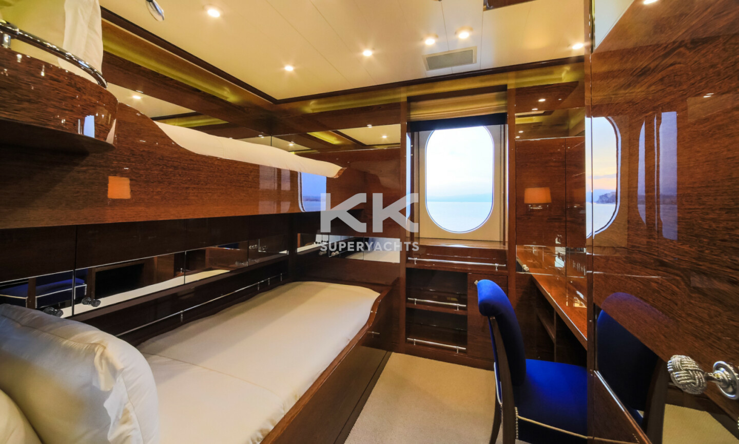 Luna B yacht for Charter 58