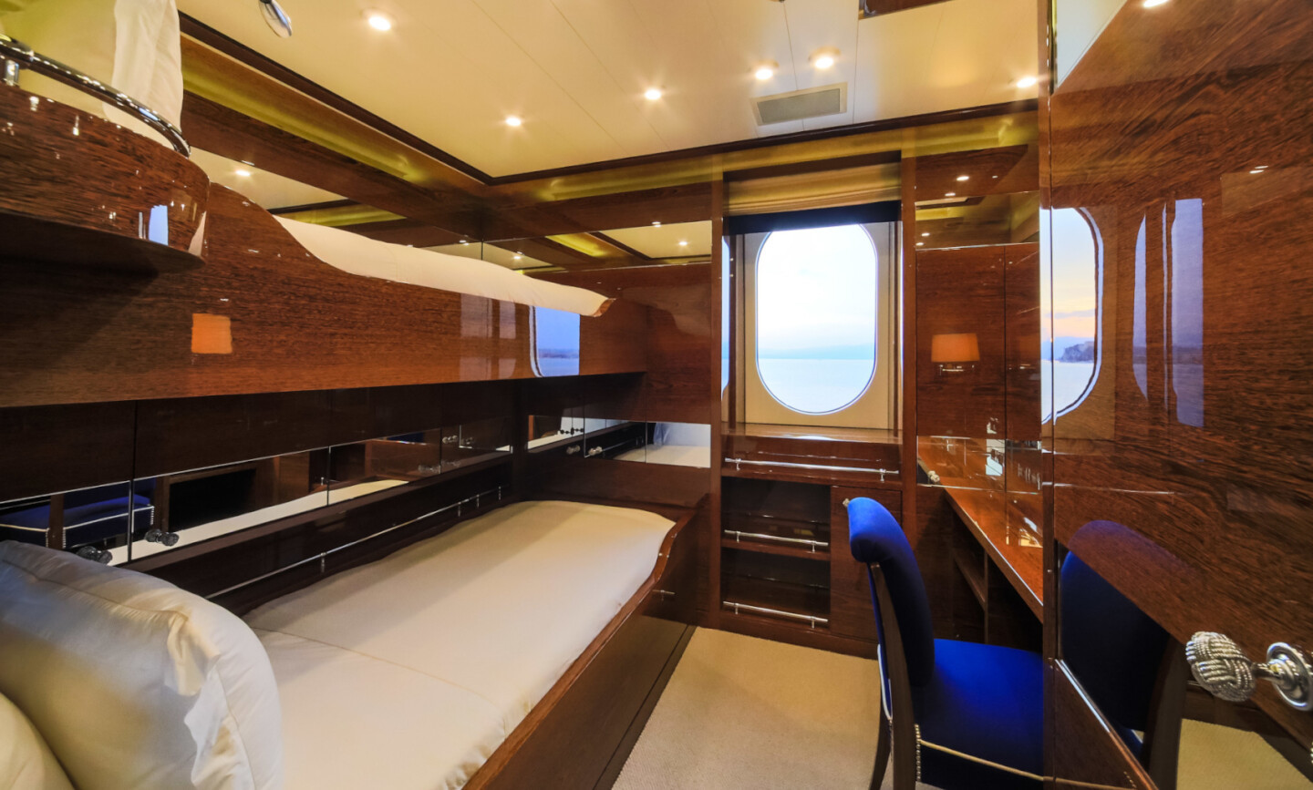 Luna B yacht for Charter 60