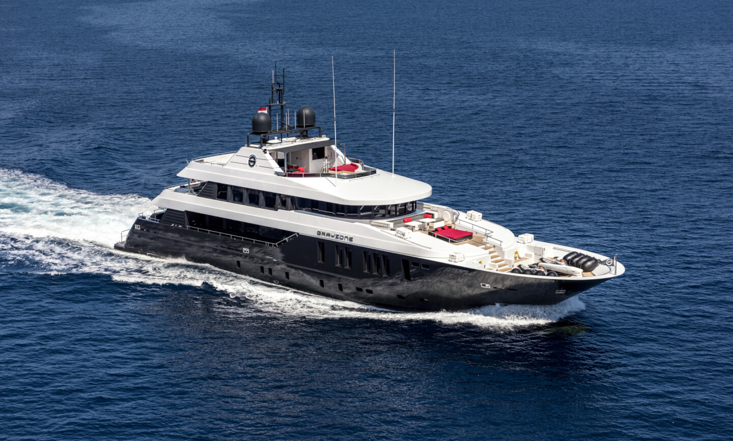 Grayzone yacht for Charter 2