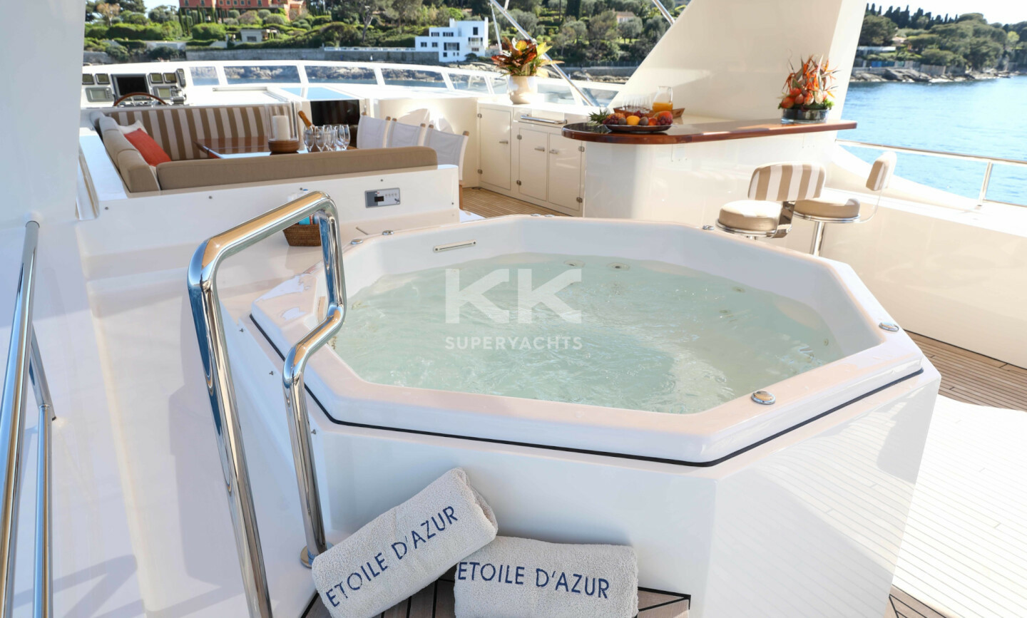 Etoile D'azur yacht for Charter