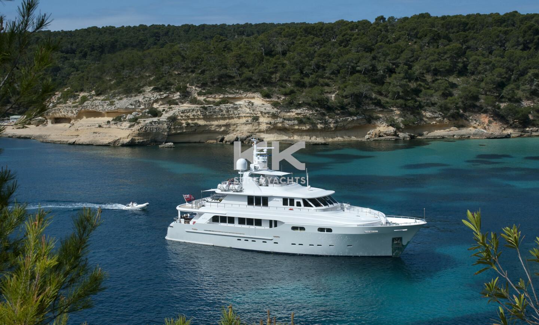 Christina G yacht for Charter 2