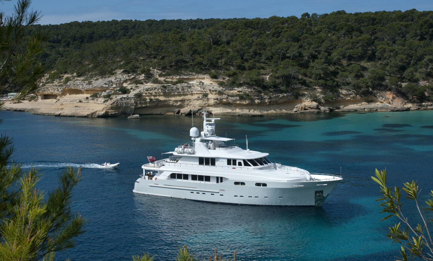 Christina G yacht for Charter 2