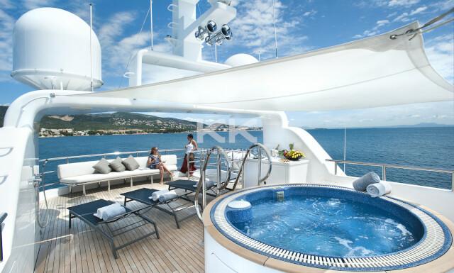 Christina G yacht for Charter