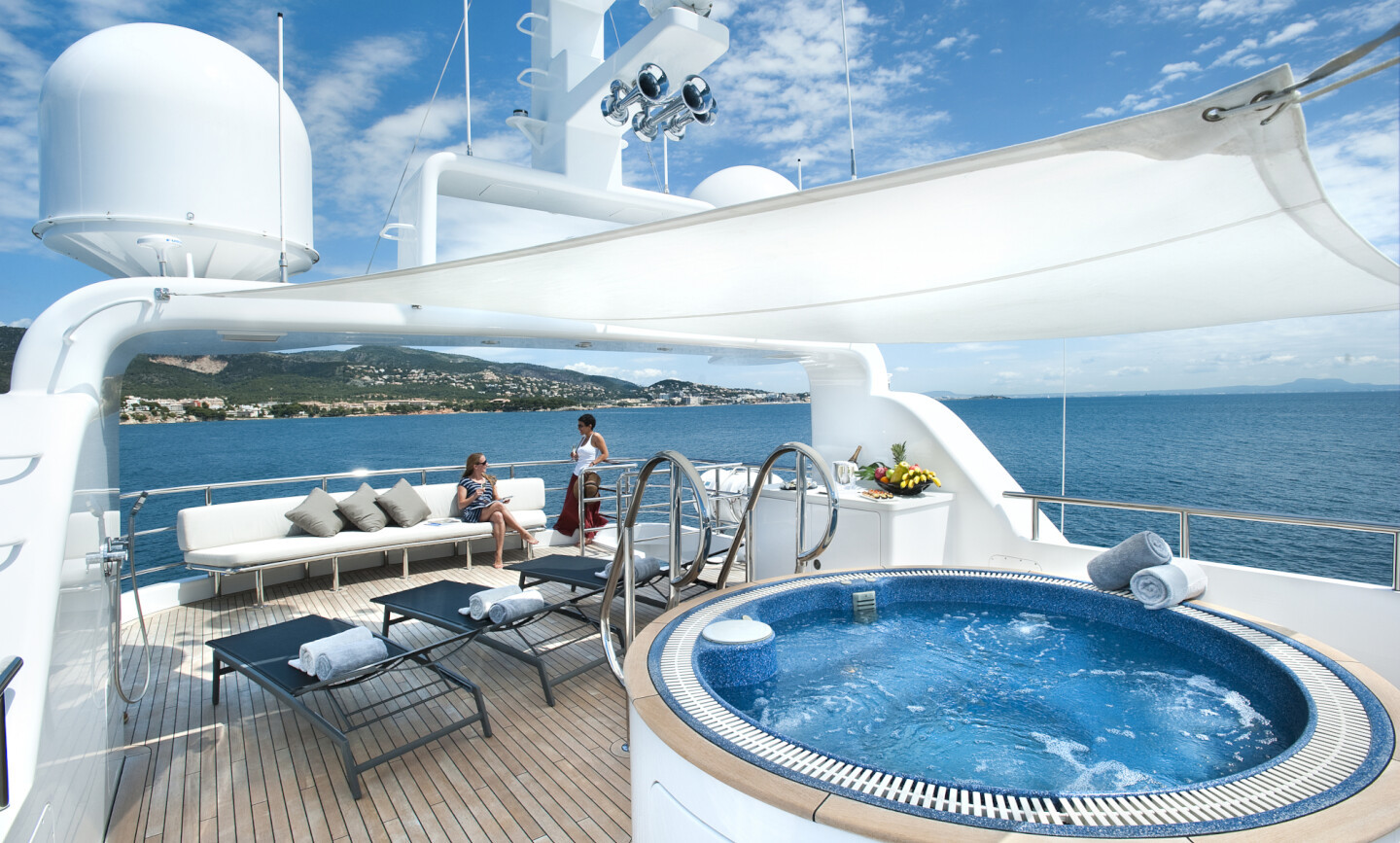 Christina G yacht for Charter