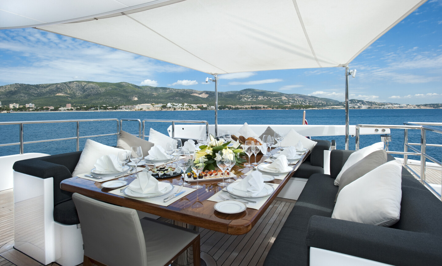 Christina G yacht for Charter 3