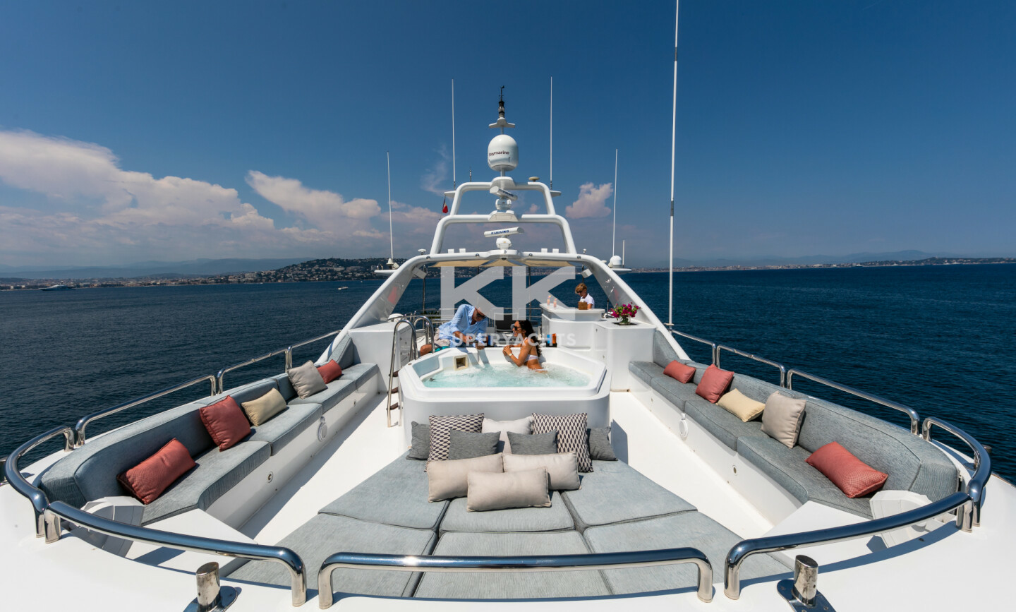 DXB yacht for Charter 3