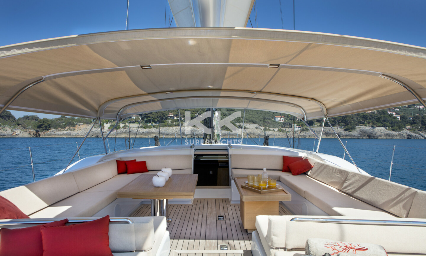 Crossbow yacht for Charter 3