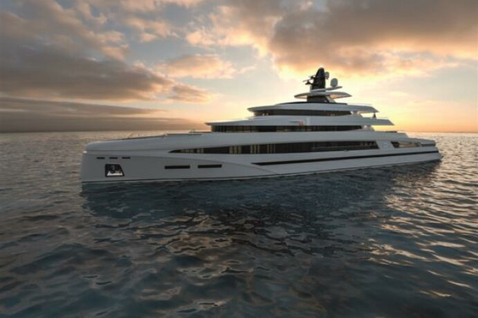 85m Spadolini Super Yacht