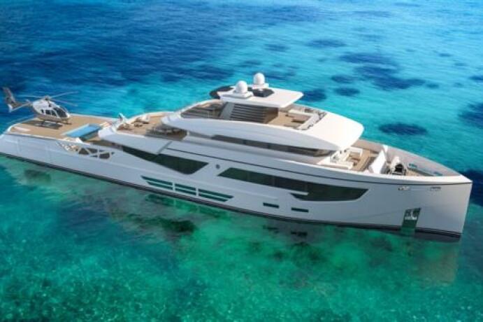 52m Phi Design Explorer Yacht