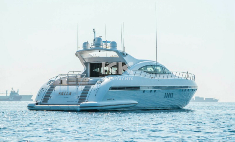Yalla yacht for Charter 24